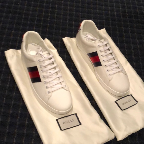 878ed088b9a Gucci Other - Gucci ace sneakers with tiger on back